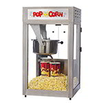 Gold Medal 2600 Super Pop Maxx Popcorn Machine w/ 16-oz Kettle, Counter Model, Stainless