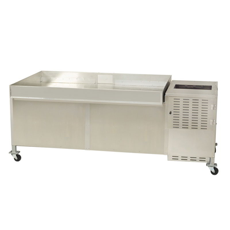 Gold Medal 2622KK Karamel Kool Large Truck for 10 or 20-gal Mixer Integrated into Rolling Base