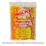 Gold Medal 2645 Mega Pop Glaze Pop Corn Kit for 6-oz Kettles, 36/Case