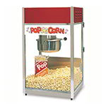 Gold Medal 2656 120208 Ultra-60 Special Popcorn Machine w/ 6-oz EZ Kleen Kettle & Red Dome, 120/208V