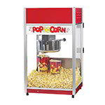 Gold Medal 2656CT 120208 Total Pop Popcorn Machine w/ 6-oz EZ Kleen Kettle & Ready Light, 120/208V