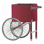 Gold Medal 2659CMP Popcorn Cart w/ 2-Spoke Wheels, Plain