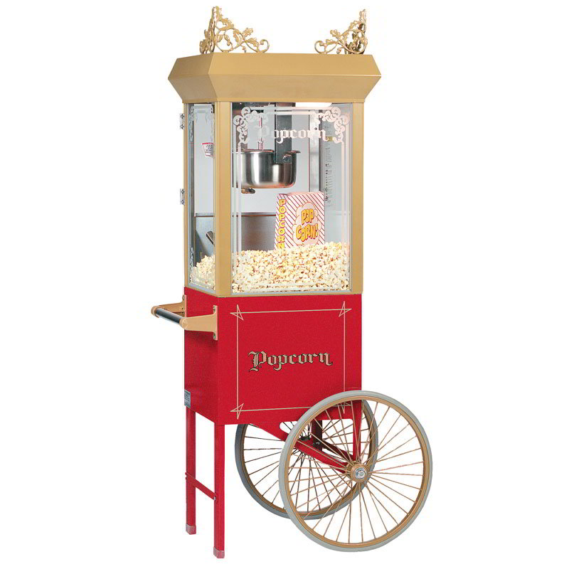 Gold Medal 2660GT 120208 Antique Deluxe Popcorn Machine w...