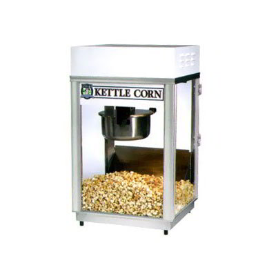 Gold Medal 2660KC 120208 Pappys Deluxe-60 Special Popcorn Machine w/ 6-oz Kettle & Heavy Duty Dome, 120/208V