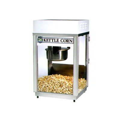 Gold Medal 2660KC 120240 Pappys Deluxe-60 Special Popcorn Machine w/ 6-oz Kettle & Heavy Duty Dome, 120/240V