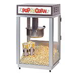 Gold Medal 2661 120240 Ultimate-60 Special Popcorn Machine w/ 6-oz Popper & Stainless Dome, 120/240V