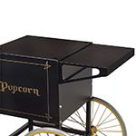 Gold Medal 2706BK Shelf for 2649-Popcorn Cart, Black