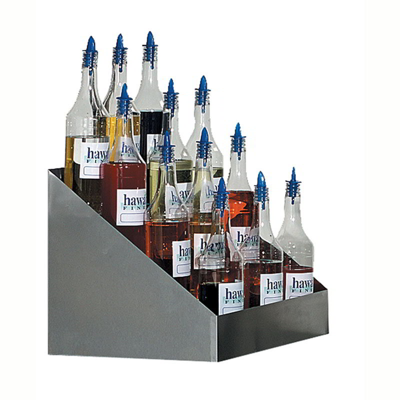 Gold Medal 2725 Tiered Shave Ice Flavor Bottle Rack W 20
