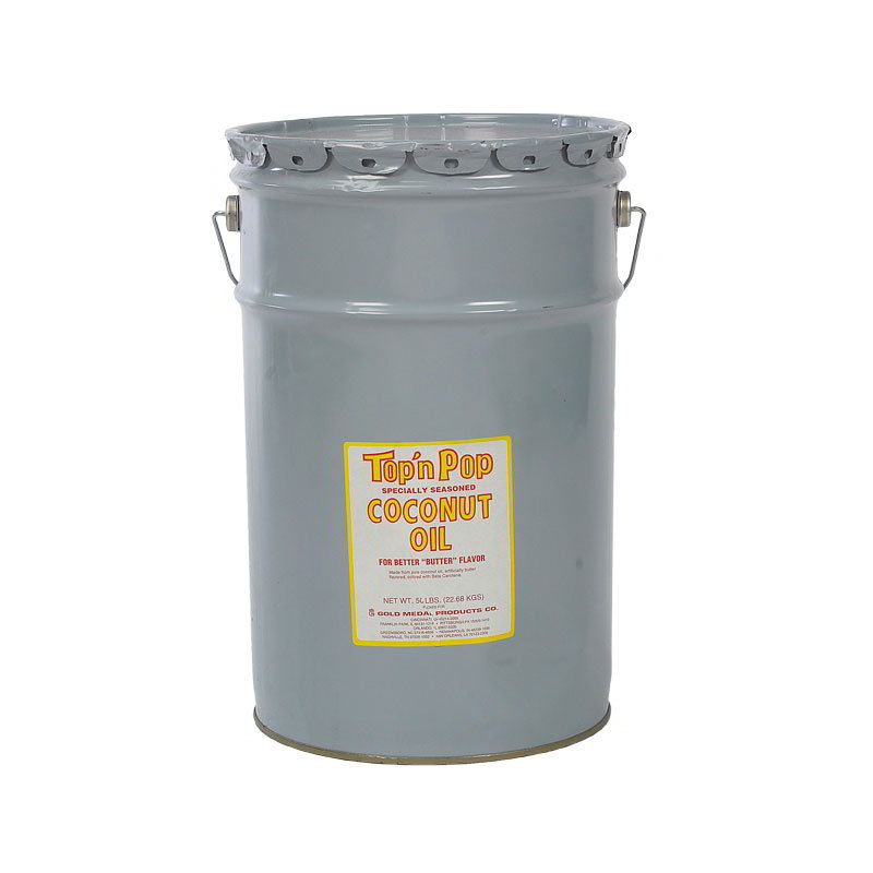 Gold Medal 2751 Pop N Lite Popping Oil, 50 lb Pail