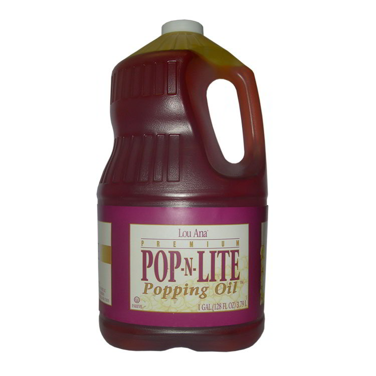 Gold Medal 2752 Pop N Lite Popping Oil, (4) 1 Gallons