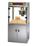 Gold Medal 2911EB 120240 Medallion Popcorn Machine w/ 52-oz Kettle & 3-Way Filter System, 120/240V