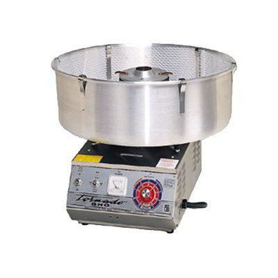 gold medal high output tornado floss cotton candy machine w aluminum floss bowl - Cotton Candy Machines
