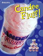 Gold Medal 3029 Candy Fluff Poster, Laminated