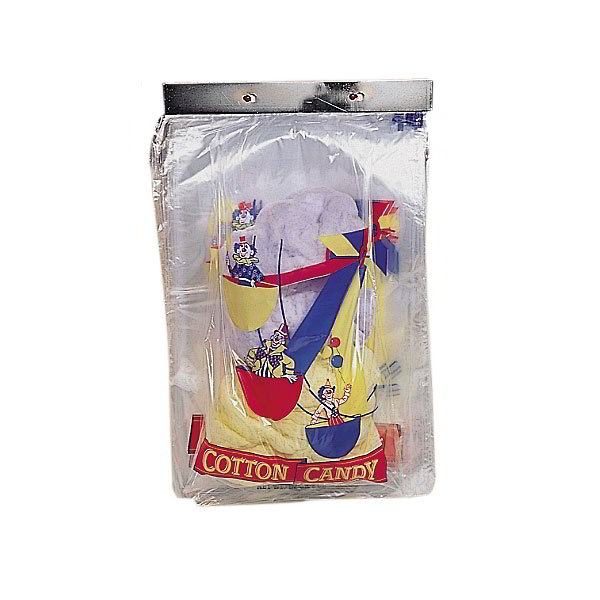Gold Medal 3069 Ferris Wheel Design Quick Pak Bags for Cotton Candy, 1,000/Case