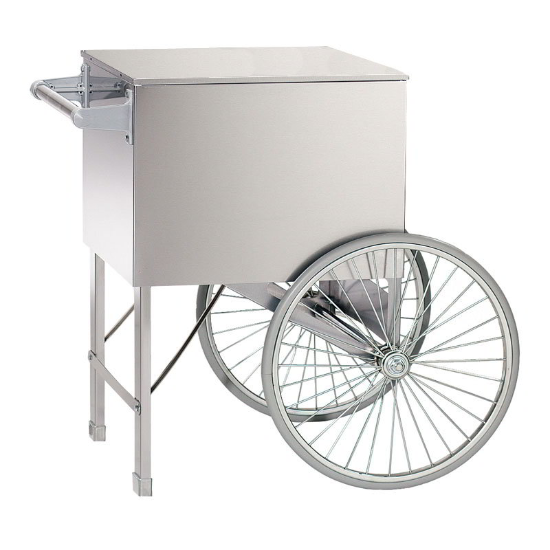 "Gold Medal 3118ST 28"" Medium Popcorn Cart, Stainless"