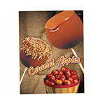 Gold Medal 4018 Laminated Caramel Apple Poster