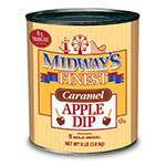 Gold Medal 4224 Trans-Fat Free Caramel Apple Dip Coats 180-240 Apples