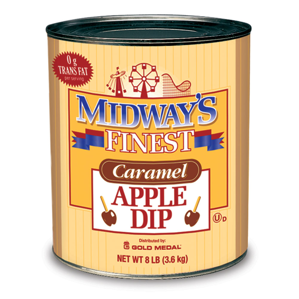 Gold Medal 4224 Midways Finest Caramel Apple Dip, 6/Case