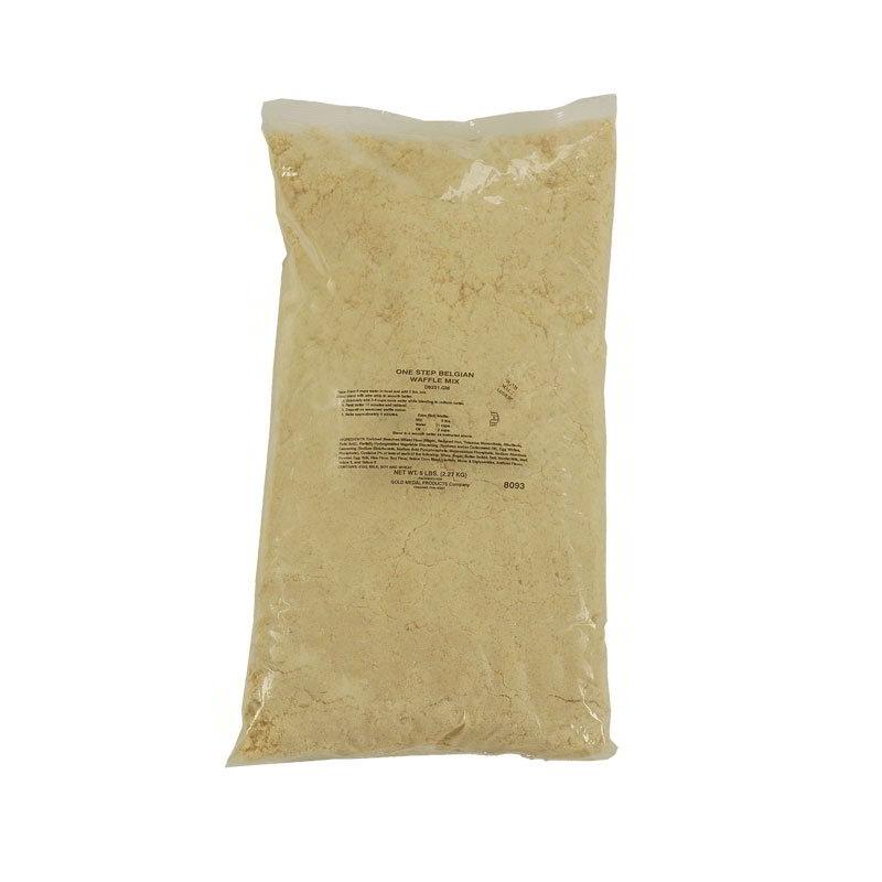 Gold Medal 5017 5-lb One-Step Bel-Varian Waffle Mix, 6/Case