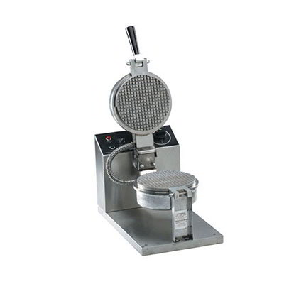 "Gold Medal 5023E Small Waffle Cone Baker w/ 6.5"" Grid & Electronic Controls"