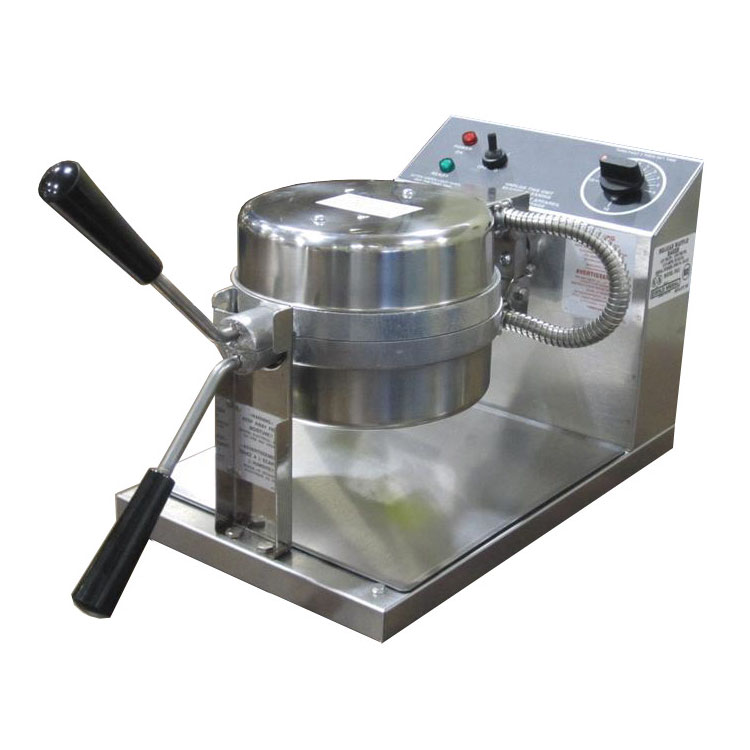 "Gold Medal 5042 Belgian Waffle Baker w/ 7.25"" Removable Grid & Toggle Control, Stainless"