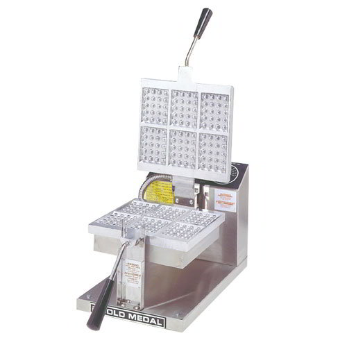 Gold Medal 5051 120 Ice Cream Wafer Waffle Baker, 120 V