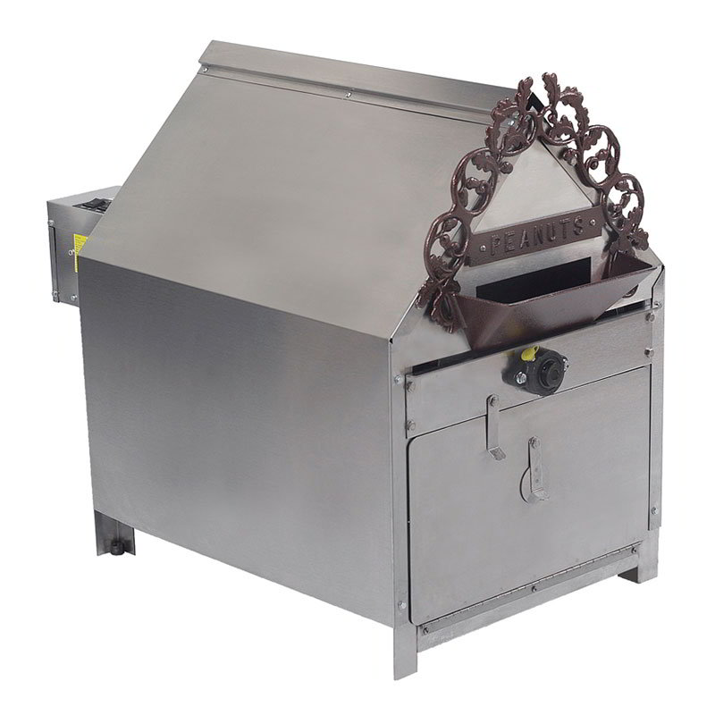 Gold Medal 5081 Indoor Peanut Roaster w/ 10-lb Capacity & 35-min Cook Cycle, 120/208V