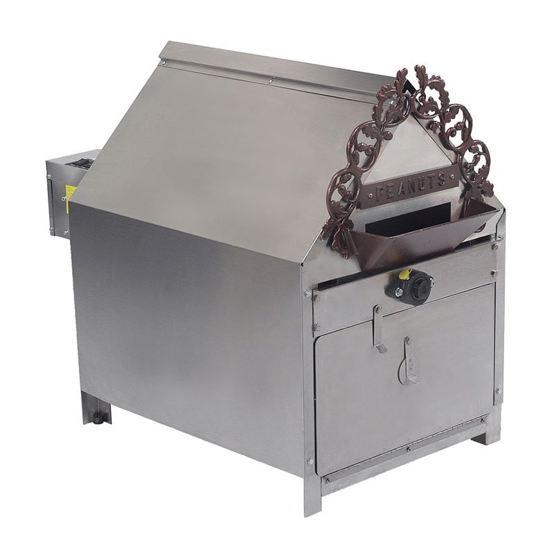 Gold Medal 5081 120240 Indoor Peanut Roaster w/ 10-lb Capacity & 35-min Cook Cycle, 120/240V