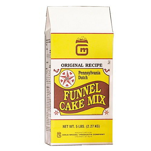 Gold Medal 5107 25-lb Pennsylvania Dutch Funnel Cake Mix