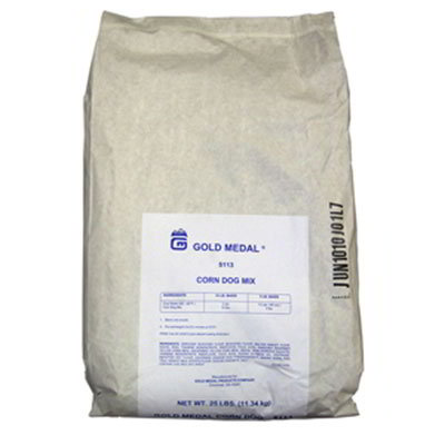 Gold Medal 5113 25-lb Case Corn Dog Mix