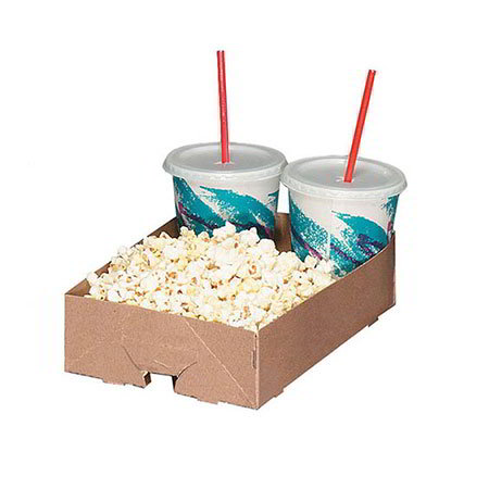 Gold Medal 5206 Disposable Concession Trays, Carry-Out Style, 250/Case