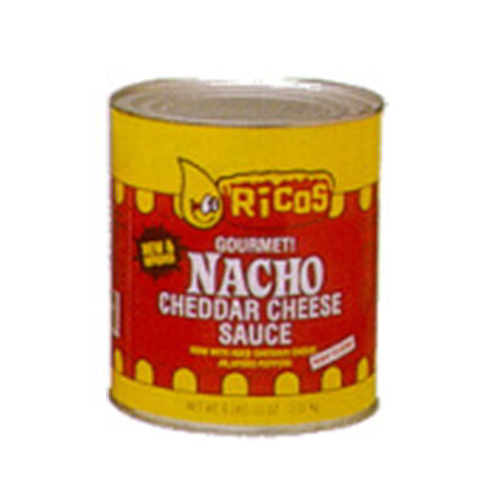 Gold Medal 5261 Ricos Profitmaker Ready To Use Cheese Sauce, (6) #10 Tins