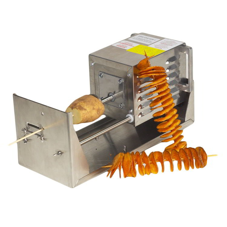 Gold Medal 5280M Electric Fry & Saratoga Swirls Cutter w/ Blades