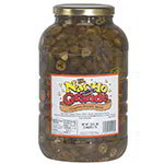 Gold Medal 5290 Pepper Rings for Nachos w/ (4) 1-gal Jars