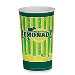 Gold Medal 5305 32-oz Lemonade Special Print Disposable Cups, 480/Case