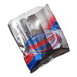 Gold Medal 5436 Disposable Hamburger Foil Hot Dog Sandwich Bags, 1,000/Case
