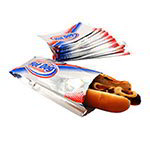Gold Medal 5455 Disposable Paper Foot Long Foil Hot Dog Bags, 1,000/Case