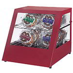 Gold Medal 5516 Slanted Pretzel Warmer w/ 18-Pretzel Capacity