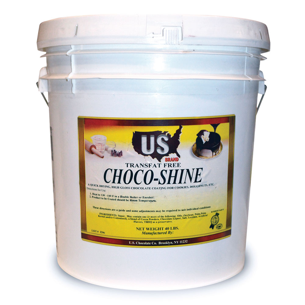 Gold Medal 5519 35-lb Pail Chocolate Dip Coating for Donuts/Pastries