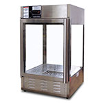 "Gold Medal 5551-00 18.5"" Humidified Pizza/Pretzel Display Cabinet, 120v"