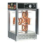 Gold Medal 5551PR 18-in Countertop Pretzel Merchandiser w/ 50-Jumbo Capacity & 1-Door