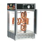 Gold Medal 5551PRD 18-in Countertop Merchandiser w/ 50-Jumbo Pretzel Capacity & 2-Pass Thru Doors