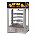 "Gold Medal 5551PZL 18"" Countertop Merchandiser w/ (4) 16"" Pizza Capacity & 1-Door"