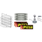 Gold Medal 5553-001 Small Pizza Cabinet Kit for 5550-00 & 5550-01