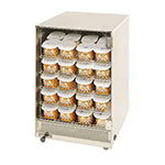 "Gold Medal 5583 12.5"" Medium Portion Pak Warmer w/ 80-Cup Capacity & 5-Shelves"