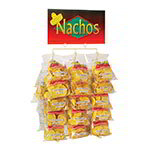 Gold Medal 5585 Display Rack for El Nacho Grande Chips Holds 30-Bags w/ Suction Feet