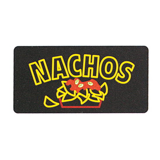 Gold Medal 5984 Nachos Lighted Menu Sign