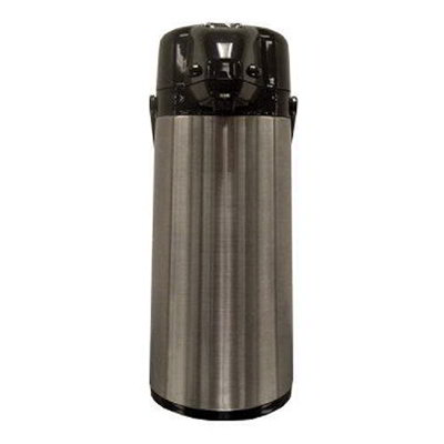 Gold Medal 7004 2.2-liter Airpot w/ 74-oz Capacity & 12-hr Heat Capacity, Stainless