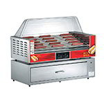 Gold Medal 8025 45 Hot Dog Roller Grill - Flat Top, 120v