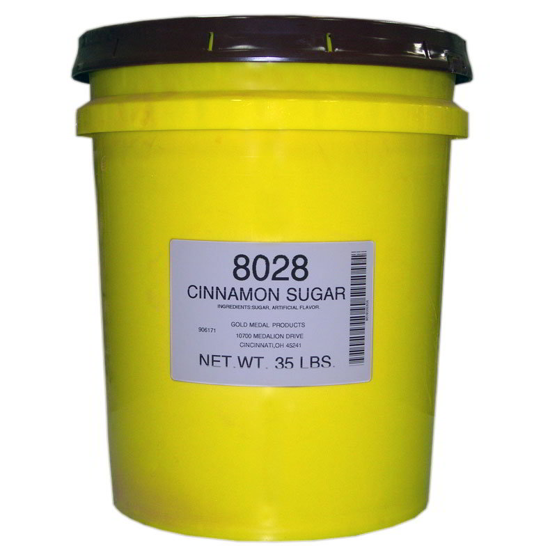 Gold Medal 8028 Cinnamon Topping Mix, 35-lb Pail
